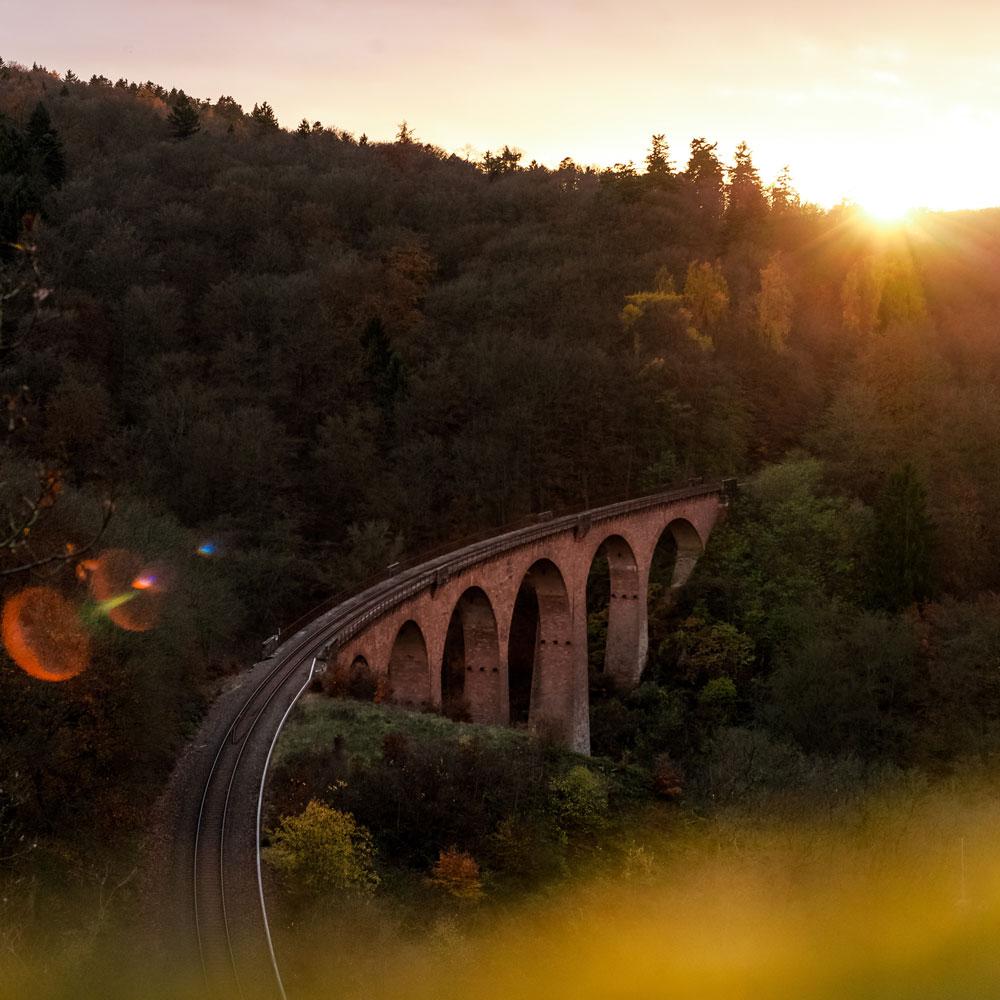 pension zur linde dingelstädt eichsfeld viadukt draisine